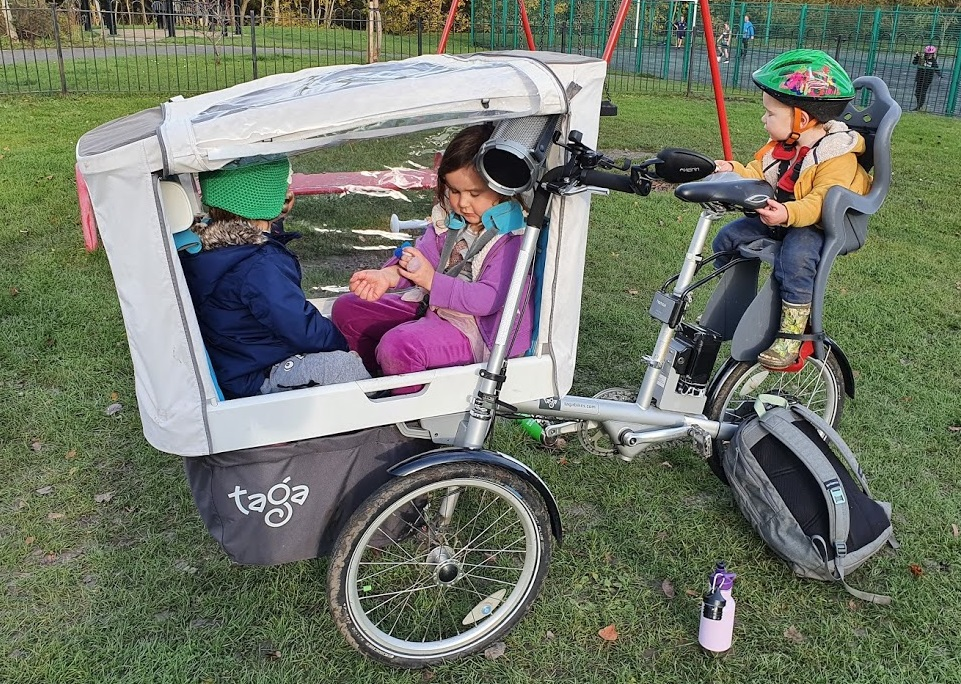 My quest for car-free local travel with small kids