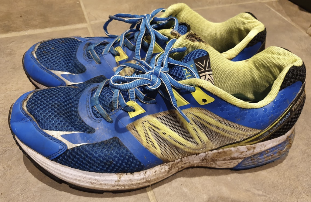 What to do with old running shoes in Aylesbury