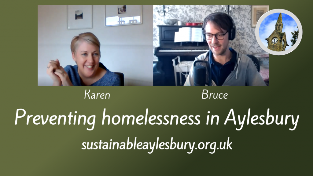 Tackling homelessness in Aylesbury with Aylesbury Homeless Action Group